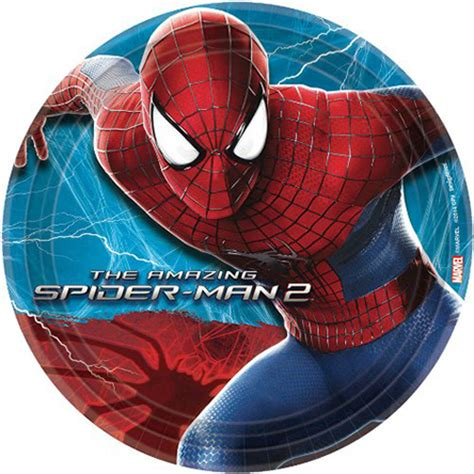 Amazing Spider-Man 2 Small Paper Plates (8ct)